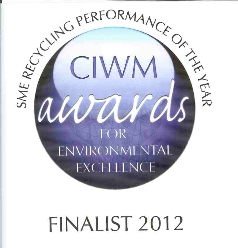 Waste King named as a finalist in this year's CIWM Awards for Environmental Excellence