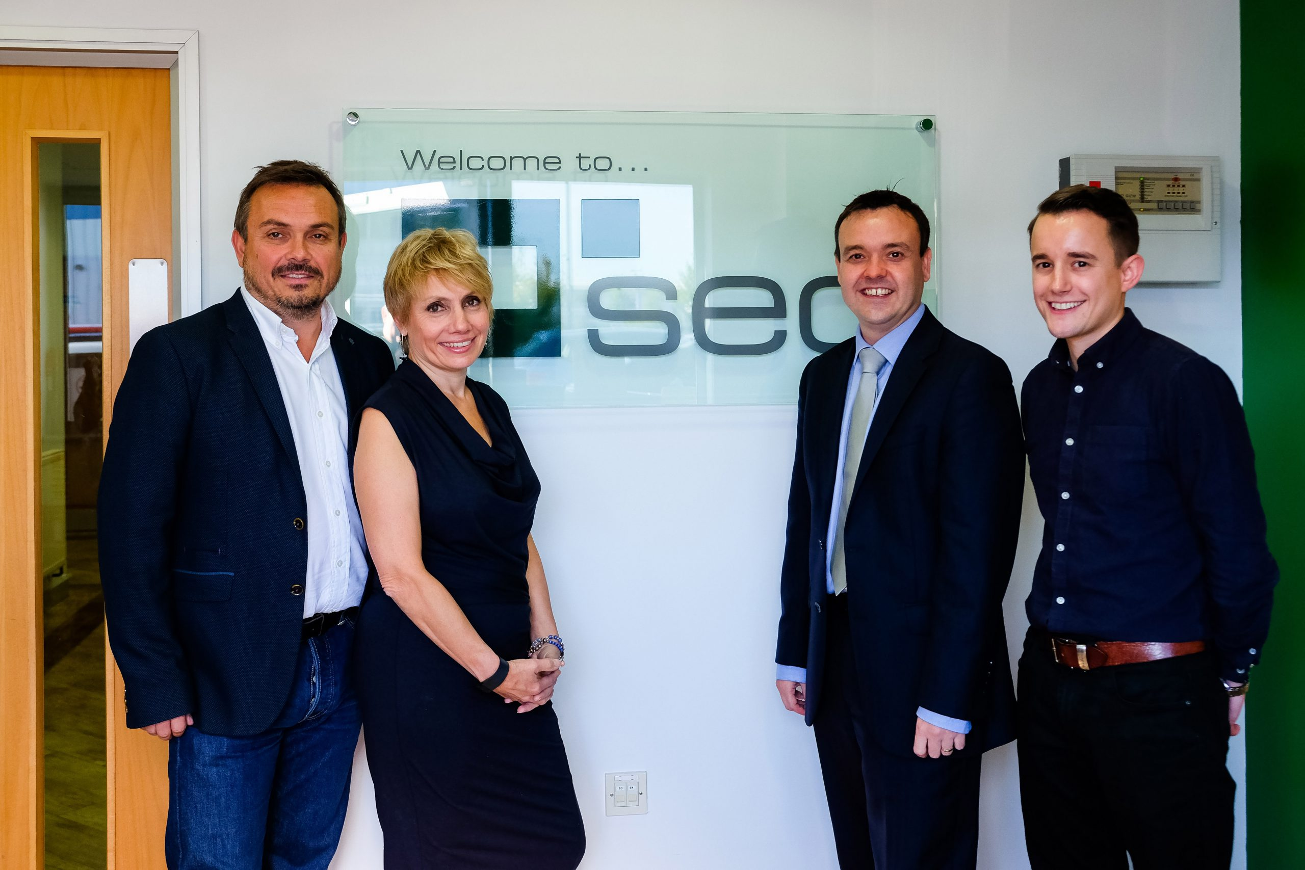 Stephen McPartland MP celebrates SEC's 18 years in business